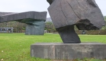 Another composite view of 2 sculptures combined.